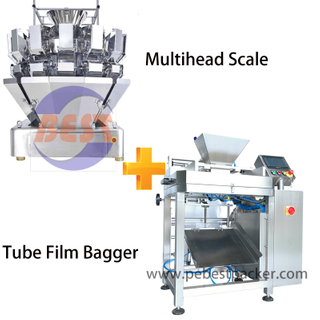 Vegetable Salad Lettuce Cucumber Bagging machine with Combination Weigher