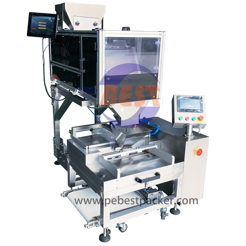 Free Flow Products Flexible Packaging Specialists: Image Counter + Tube Film Packing Machine