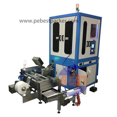 Automatic Bolts Nuts Washer Screws Sorting Bagging Machine