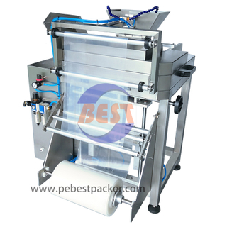 Bag Make Machine With PE Bags-On-A-Roll Film