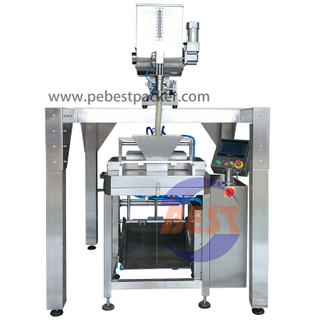 Pneumatic Liquid Pump Nata Cream Bagging Packing Machine