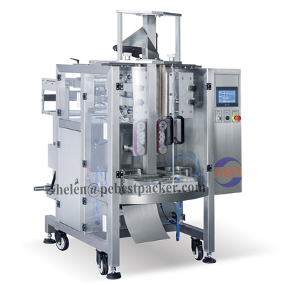 Quad Seal Bag Coffee Bean Packaging Machine Peanuts Packing Machine